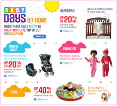 sears canada thanksgiving weekend baby days deals sale save up
