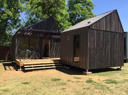 design build program creates two micro houses huber engineered woods