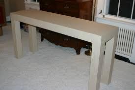 jason bannister design grasscloth parsons table jason bannister
