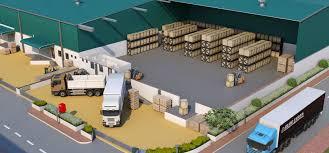 Clu Campus Map Warehouse In Gujarat Industrial Park Gujarat Industrial Land