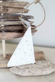 driftwood sailboat ornaments clean and scentsible