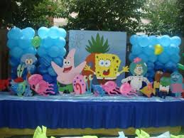 remarkable house kids birthday party decoration cartocn ideas