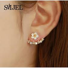 earrings for smjel 2017 fashion jewelry cherry blossoms flower stud