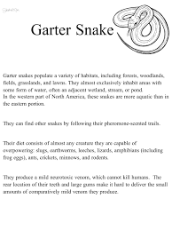 snake garter snake habitat science natural science