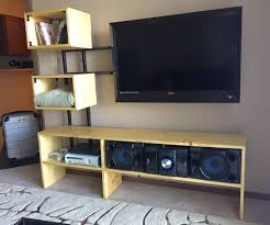 Diy Audio Equipment Rack Floating Tv Stand 7 Steps With Pictures