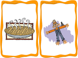 thanksgiving flashcards for teaching esl