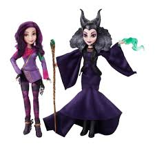 disney descendants two pack mal isle of the lost and maleficent