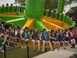 Dallas Texas Six Flags Six Flags Over Texas Opens Newly Expanded Gotham City Section