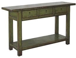 Green Console Table Great Green Console Table With Olive Green Lacquered Console Table