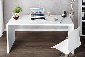 White High Gloss Office Desk Furniture V2 Mayline Laptop Office Desk In High Gloss White