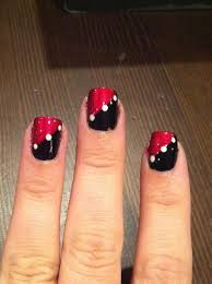 red and black toe nail art designs t4nnlomj nail ideas