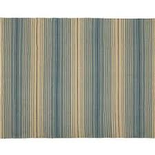 Pottery Barn Outdoor Rug Reversible Striped Indoor Outdoor Rug Blue Pottery Barn