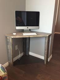 Small Black Corner Desk With Hutch Small Black Corner Desk Varnished Wood Computer Intended For