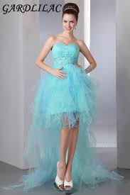 Light Blue High Low Dress Online Buy Wholesale High Low Light Blue Prom Dress From China