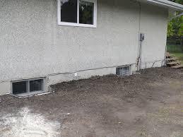 Replacing A Basement Window by Window Wells Repair Edmonton Abarent