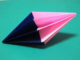 origami how to make a diamond christmas decoration youtube
