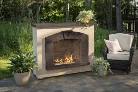 Outdoor Gas Fire Pit Stone Arch Gas Fireplace Fireplaces Fire Pits U0026 Fireplaces