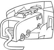 fire truck coloring free printable coloring pages