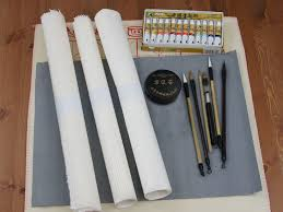a student value pack or starter kit for chinese painting a student pak