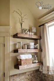 strikingly beautiful above toilet shelves stunning design ana