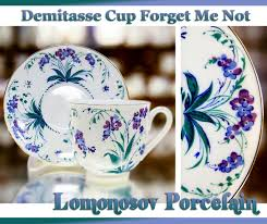 Porcelain by Lomonosov Russia Factory Direct From Russia