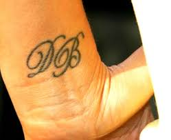 victoria beckham wrist tattoo meanings u0026 photos of her wrist tattoos