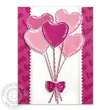 heart balloon bouquet studio bold balloons layering 4x6 photo polymer clear st