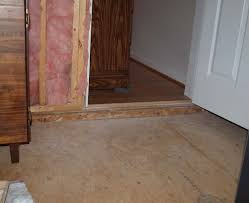 Level A Floor For Laminate How Can I Raise A Bonus Room Subfloor Level With The Adjacent