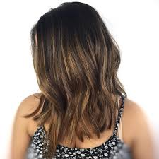 light brown highlights on dark hair 30 stunning ideas of black hair with highlights