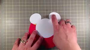 Mickey Mouse Invitation Cards Mickey Mouse Birthday Invitataion Youtube