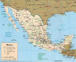 Jalisco Mexico Map Mexico Political Map 1 U2022 Mapsof Net