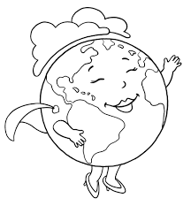 free coloring pages of parts of the planet earth planet earth
