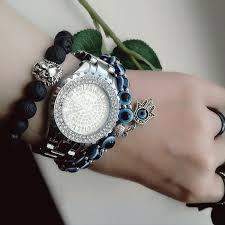 handmade charm bracelet images Handmade evil eye glass beads hamsa charm bracelet project yourself png
