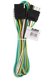 amazon com conntek 4 5 way flat coiled extension cord 4 feet