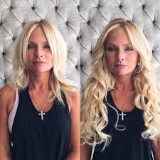 how to cut halo hair extensions lovely halo blushbar the blow dry bar