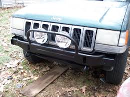 jeep prerunner bumper zj front bumper cover without black bumper guards jeepforum com