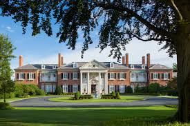 the mansion from the great lawn glen cove mansion pinterest