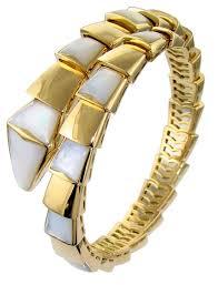 yellow gold pearl bracelet images Bvlgari serpenti yellow gold and pearl bracelet br855763 jpg