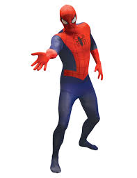 2nd skin halloween costumes spiderman second skin costume