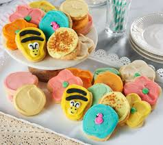 cheryl s cookies qvc com cheryl s 24 piece summer frosted cookie assortment m54726