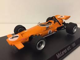 formula 4 car 4 mclaren m7c 1969 bruce mclaren diecast model formula 1 f1 car 1