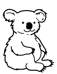 wombat coloring pages