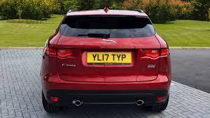jaguar f pace trunk used jaguar f pace 2 0d 240 r sport 5dr auto awd diesel estate
