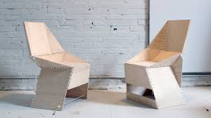the zipstich chair was designed by ben uyeda for the 21st episode