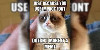 Meme Impact - il font dei meme il post