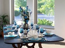 Blue Table L Decorations Dining Table Decor Blue Images About Clc Banquet