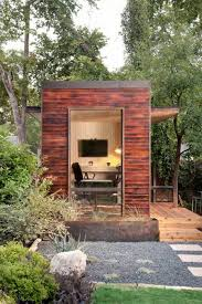 outdoor home office or guest room design by sett studio