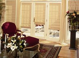 french door window treatments home interior design