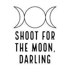 shoot for the moon shoot for the moon t shirt teepublic