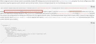 Map Network Drive Batch File Aws Developer Forums Custom Domain Name For Regional Api